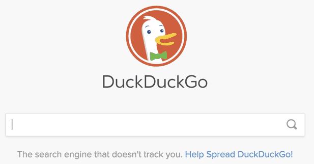 Suchmaschine ohne Filter: DuckDuckGo