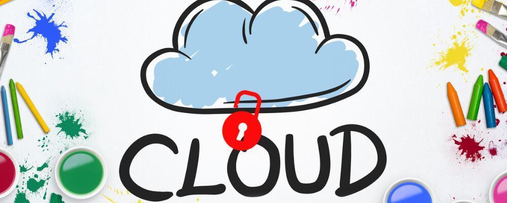 Sichere Cloud – Die Cloud verschlüsseln: Wolke mit Schloss